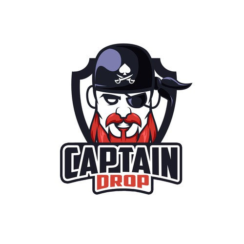 Captain drop logo