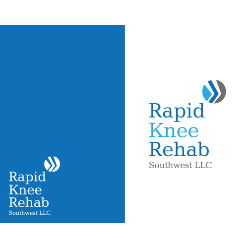 New logo wanted for Rapid Knee Rehab Southwest LLC