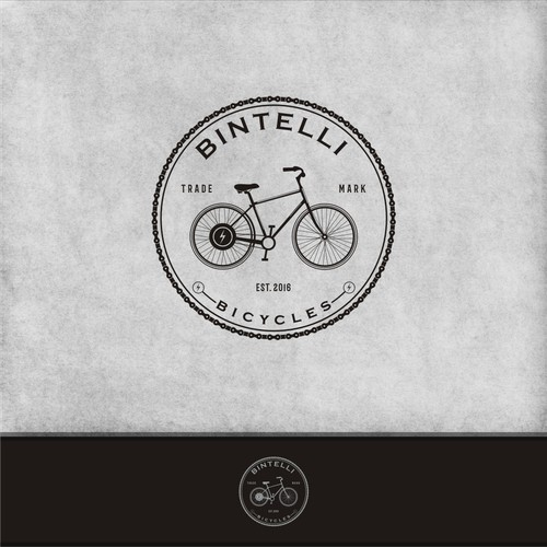 a new logo for bicycle manufacturing company