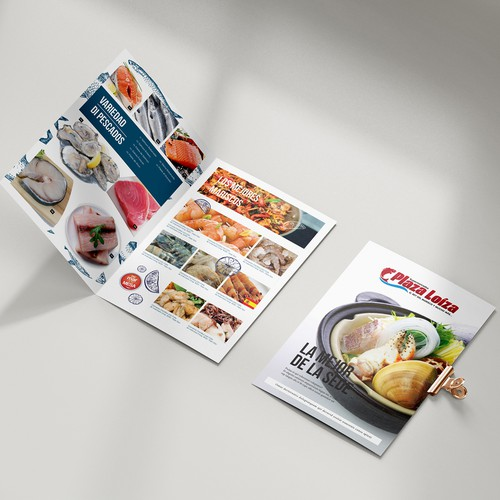 Supermarket fish promotion