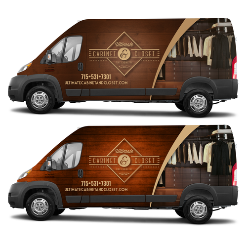 Ultimate Cabinet & Closet Vehicle Wrap