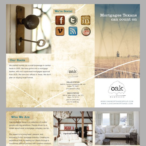 Oak Mortgage Group Brochure