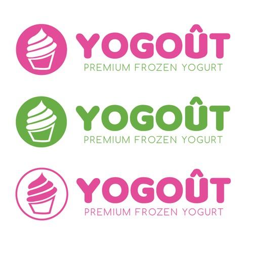 Frozen Yogurt logo redesign