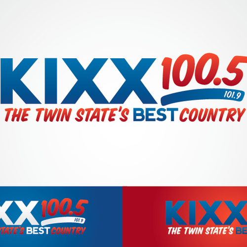 Help Kixx 100.5/101.9 with a new logo
