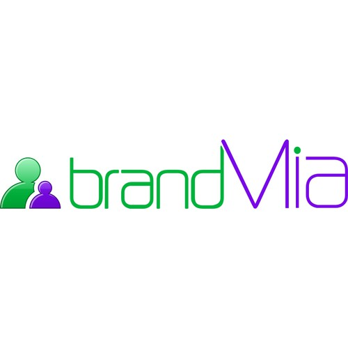 Showcase your talent with a simple and impactful word mark for brandMia.