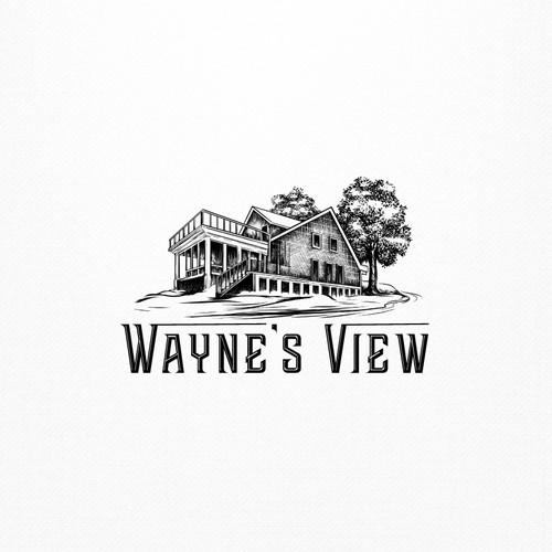Wayne's View Logo