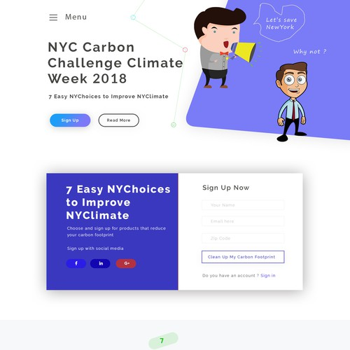 NYC carbon challenge