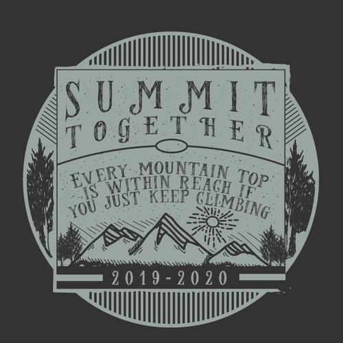Vintage design for SUMMIT TOGETHER