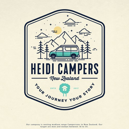 HEIDI CAMPERS LOGO PROPOSAL