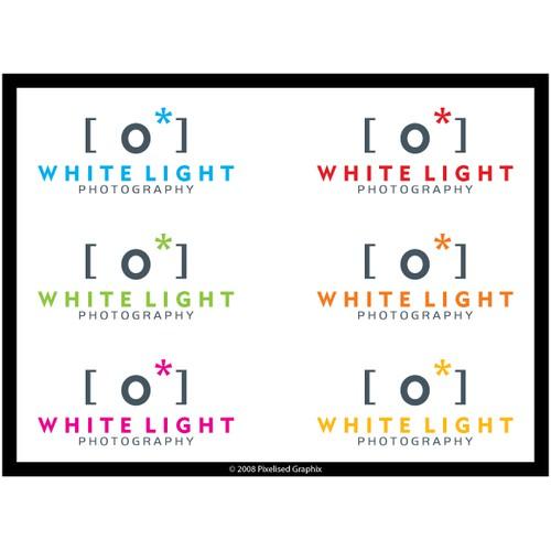 White Light Photography Logo Design