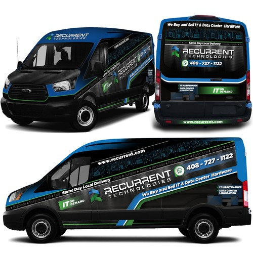 Recurrent Technologies delivery van