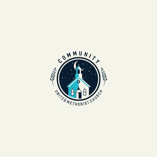 Create an engaging graphic identity for a coastal community church