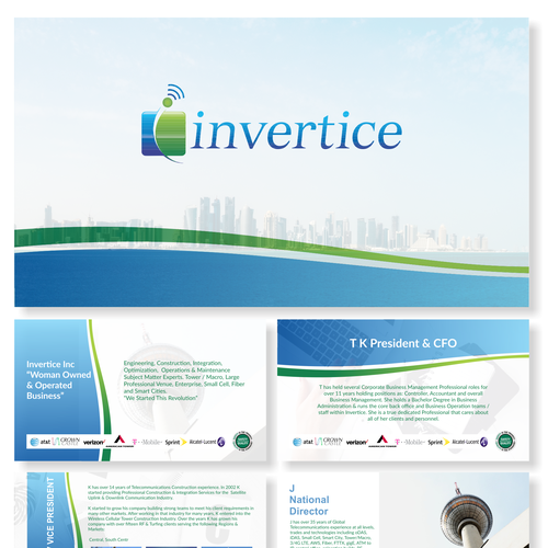 powerpoint design for invertice