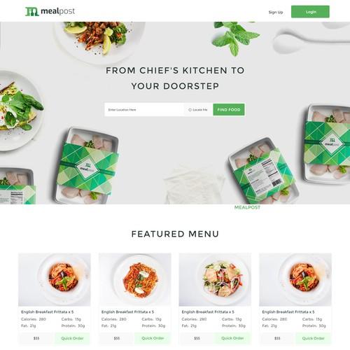 Mealpost Needs New Website Design