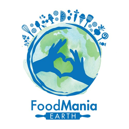 FoodMania Earth Logo