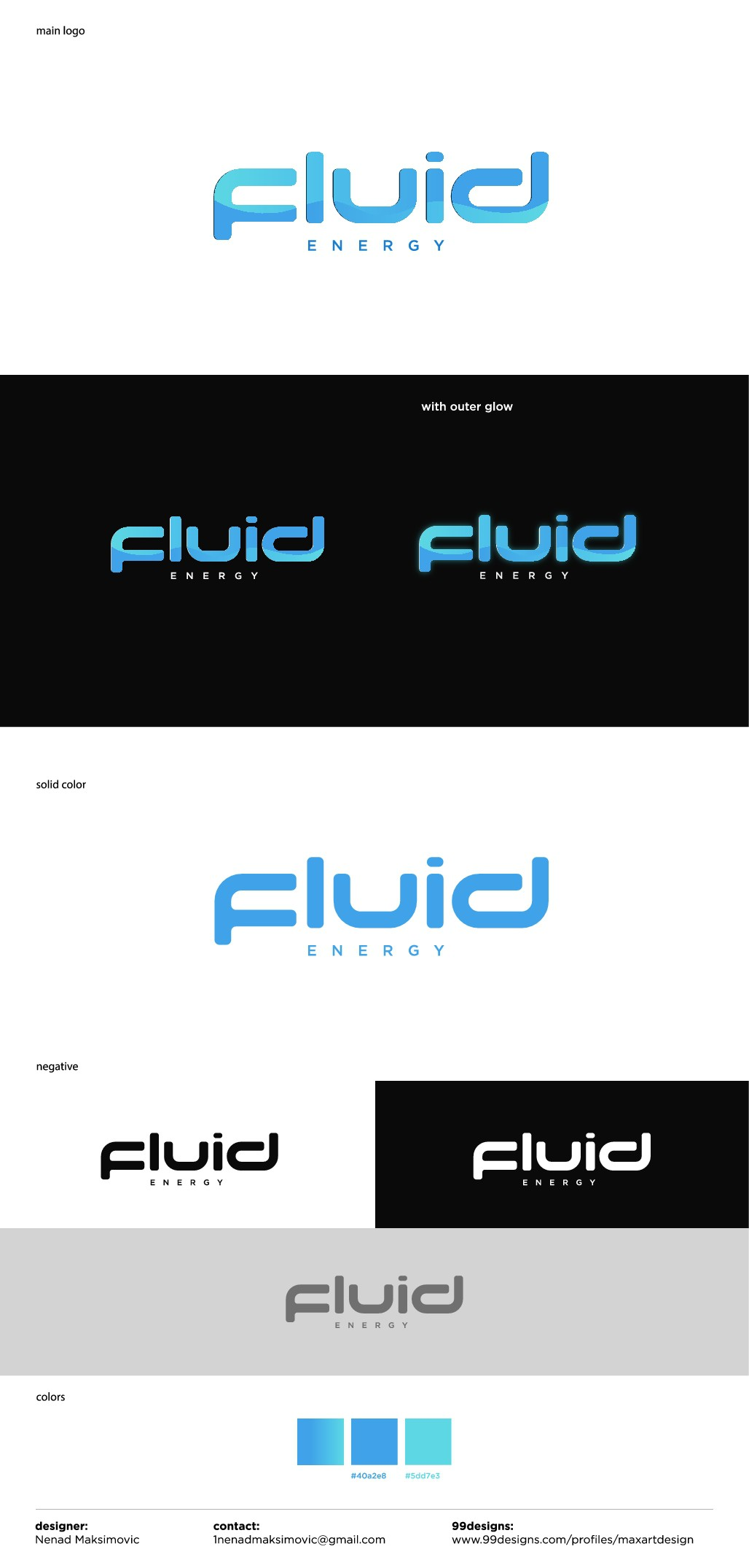 Fluid Energy needs a catchy logo for its energy drink brand!