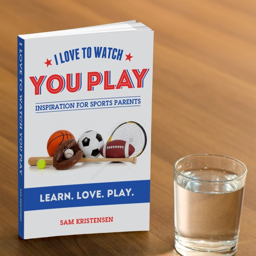 Book Cover Design for Sports Parents