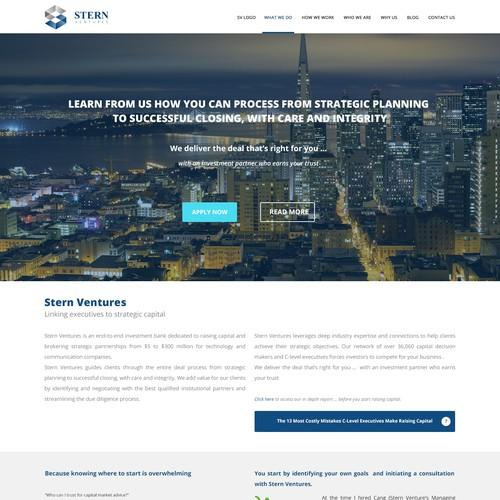 Website for Premier Hi-Tech Investment Bank