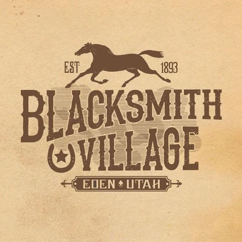 logo for Blacksmith Village