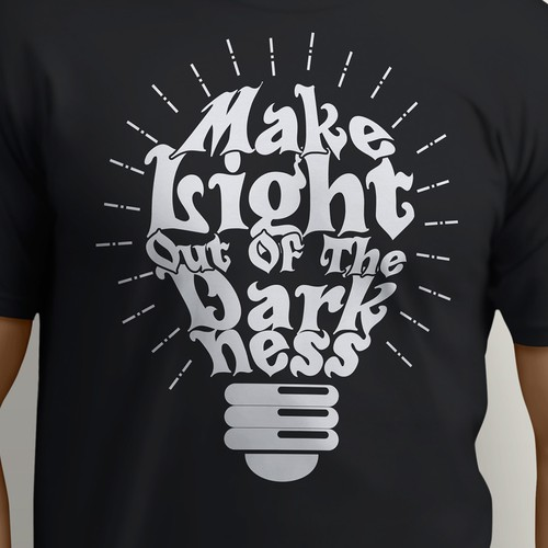 Typography design for Tshirt