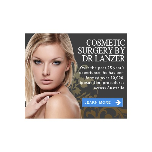 Create eye catching web banner for Cosmetic Surgery