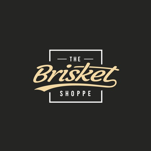 "Hipster style for ""The Brisket Shoppe"""