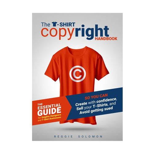 Book cover for The T-Shirt copyright handbook