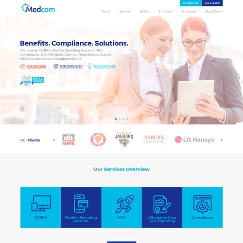 Web Design for Administration-firm