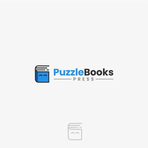 PuzzleBooks Logo Design