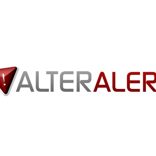Logo Design for Alter Alert