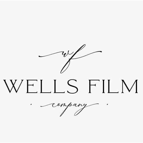 A modern logo for a wedding/business videographer
