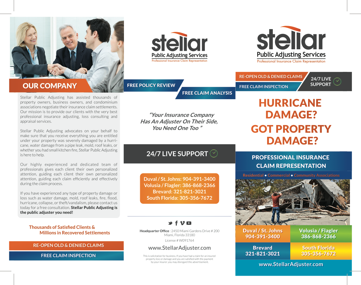 Redesign of Current Brochure