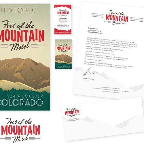 Brand Refresh for Vintage Log Cabin Motel in Boulder, CO