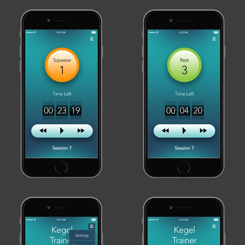 Kegel Mobile App