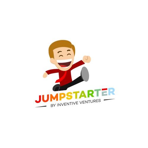 Playful Jumper Logo for Online Platform