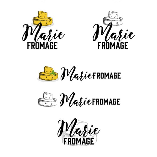 Logo concept for cheese company