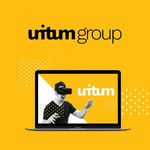 Bold logo for unitum group company