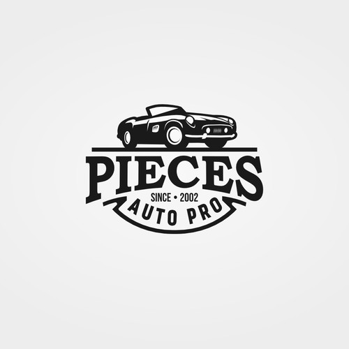 Need a vintage logo design for a car spare part online retailer