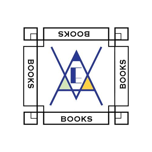 Modern art deco logo