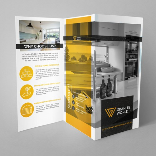 Brochure Design for Granite Company