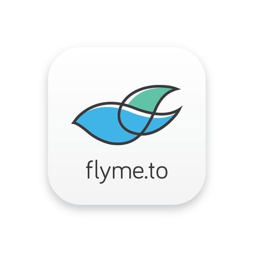 Logo design concept for Flyme