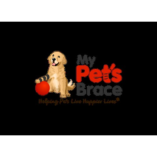 Illustration Logo Concept for My Pets Brace