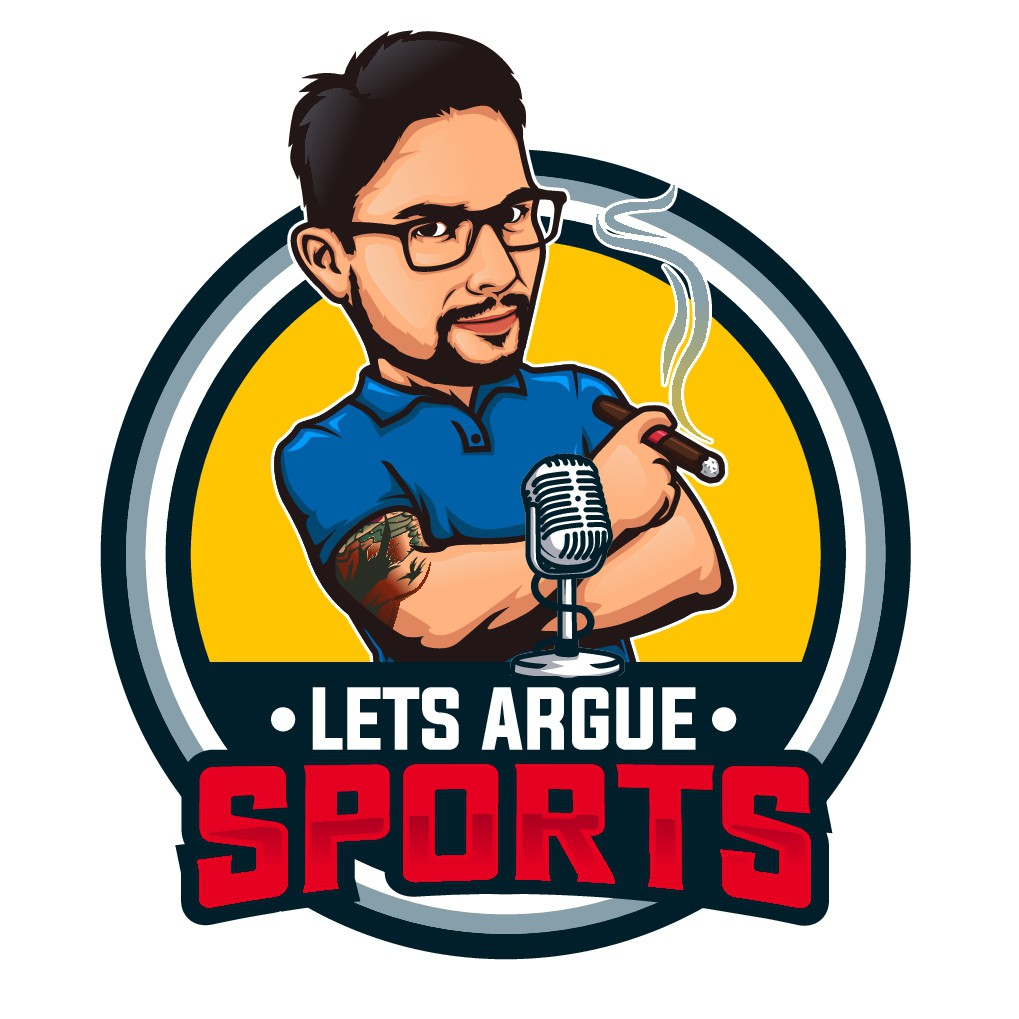 Lets Argue Sports Podcast Logo