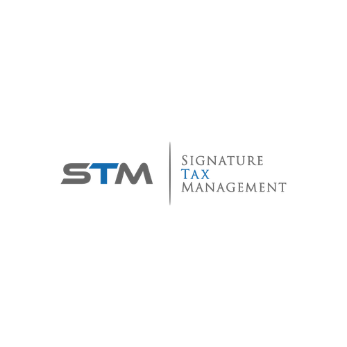simple & sophisticated logo for signature tax management