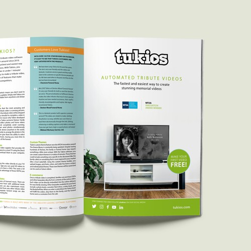 Tukios DPS Magazine Advert