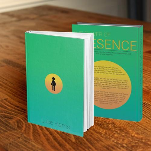 Minimalistic design for a self help book