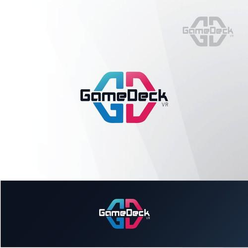 Logo concept for GameDeck VR