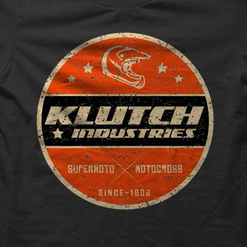 Klutch Industries needs motocross styled tshirt designs