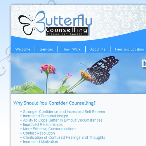 design for Butterfly Counselling