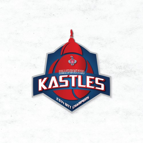 Washington Kastles Tennis 2014 Championship Logo